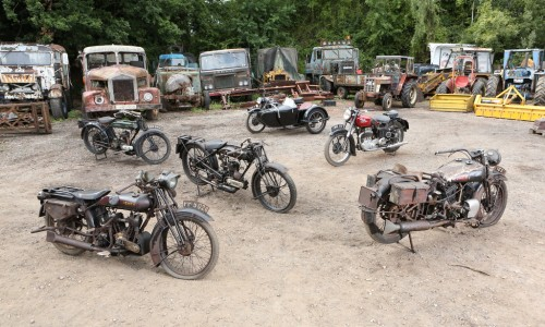 John-Keeley-Collection-of-45-barn-find-motorcycles