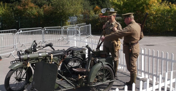 Matchless-Vickers-outfit-under-guard