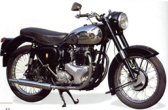 Bsa A10 Golden Flash Classic Bike Gallery Classic Motorbikes