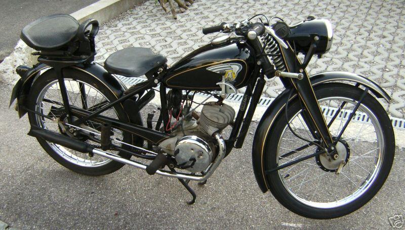 Ardie Ne on Morini Engines