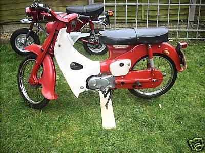 Honda C100 Classic Motorbikes