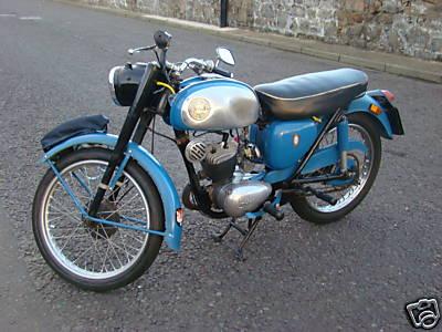 Bsa Bantam D7 Super 1965