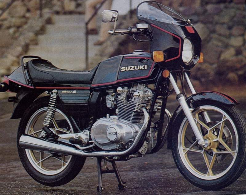 Suzuki  Stroke Street Bike