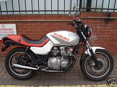 Gs Katana on 1981 Suzuki Gs550l