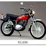 Honda XL250 Gallery