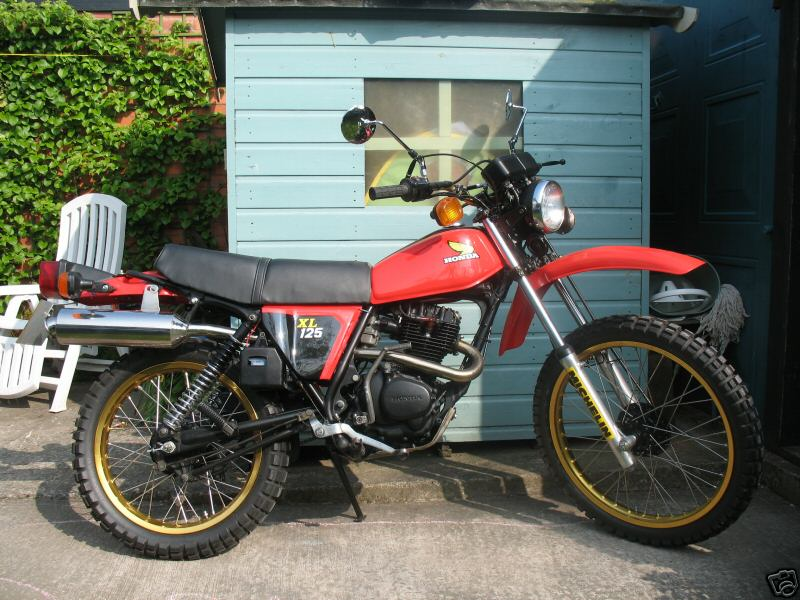 honda xl125 gallery classic motorbikes. Black Bedroom Furniture Sets. Home Design Ideas