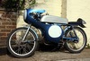 itom tabor 65cc classic racing moped 1957