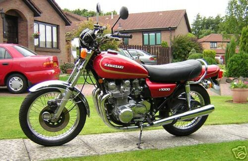 Kawasaki Z1 Gallery - Classic Motorbikes