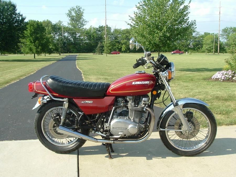 Kawasaki kz750 gallery classic motorbikes for B1 honda service