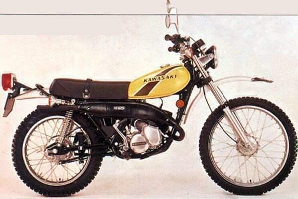 kawasaki classic motorcycles classic motorbikes rh classic motorbikes net 1978 Kawasaki Ke 125 Kawasaki 125 Dirt Bike