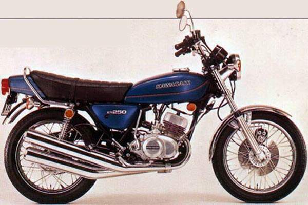 Kawasaki KH250 Gallery | Clic Motorbikes