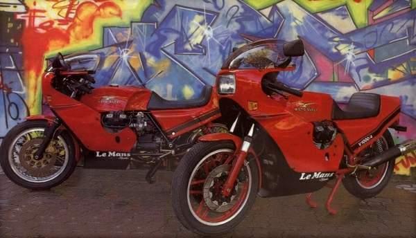 moto guzzi le mans classic motorbikes. Black Bedroom Furniture Sets. Home Design Ideas