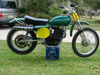 Yamaha 100cc Dirt Bike