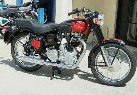 Image result for royal enfield bullet 1970 model