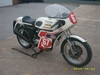 triumph slippery sam replica 1975