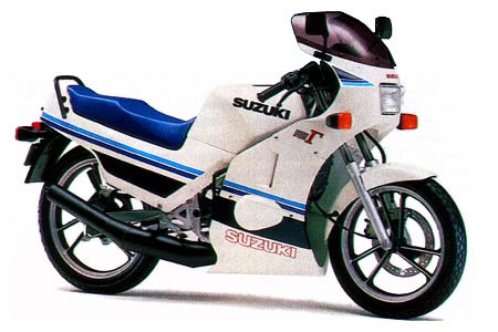 suzuki rg125 gallery classic motorbikes. Black Bedroom Furniture Sets. Home Design Ideas
