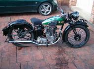 1935 BSA 350 R4