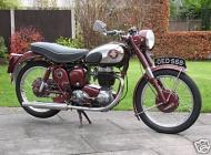 1956 BSA C12