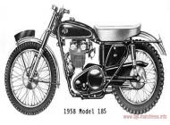 1958 AJS Model 18S
