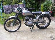 "Francis Barnett ""Falcon"" Trials bike"