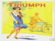 1931 Triumph Sales Brochure