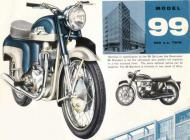 1961 Norton Model 99 Advert