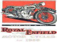 1930 Royal Enfield Advert