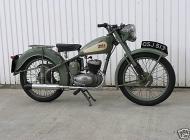 1953 BSA D1 Bantam