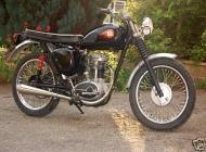 1961 BSA C15 250