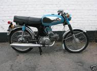 1965 Honda S 90