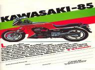 Kawasaki GPZ750R Ad