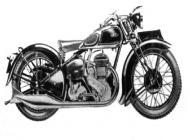 1938 Ariel Side Valve 600cc Deluxe