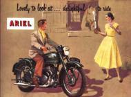 1953 Ariel Sales Ad