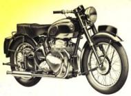 1954 Ariel 1000cc Square Four Model 4G