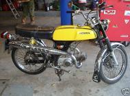 1977 Honda SS50