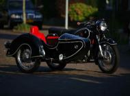 BMW R50 with Steib TR500