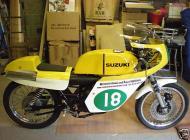 Vic Camp Suzuki Classic Racer