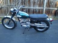 Triumph T100C Tiger Competition