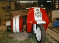 1960 Harley Davidson Topper and Sidecar