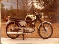 1965 Honda CB305 Hawk