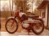 1965 Honda CL305 Scrambler