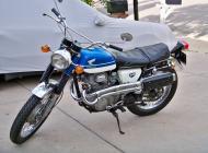 1969 Honda CB350 Scrambler