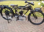 1925 AJS Model E5
