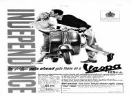 Vespa UK Independance 1961
