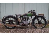 1938 BSA B22 Empire Star
