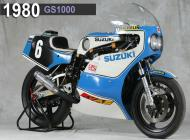 1980 Suzuki GS1000 Racing Bike
