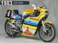 1983 Suzuki GS1000 Racing Bike