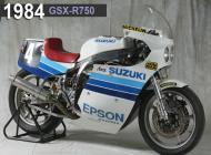 1984 Suzuki GSX-R750 Racing Bike