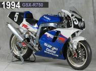 1994 Suzuki GSX-R750 Racing Bike