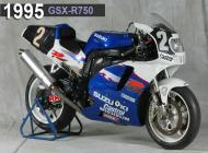 1995 Suzuki GSX-R750 Racing Bike